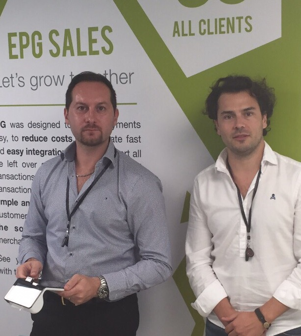 (Left) CEO, Alex Capurro, (Right) COO, Jose Manuel Peral, EPG