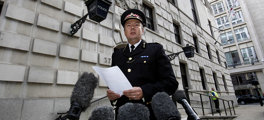 City of London Police HQ (Photo: Bloomberg)