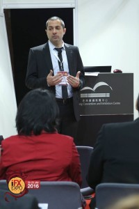 Oded Sheffer, CEO, cPattern, presenting at the iFX Expo